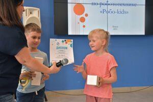 Кировские дошколята собрали робота-скорпиона