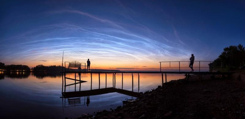 Кировчане могут заметить на небе серебристые облака