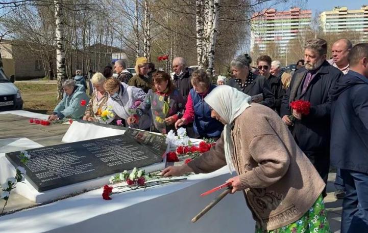 В Кирове отреставрировали памятник землякам, погибшим в годы войны