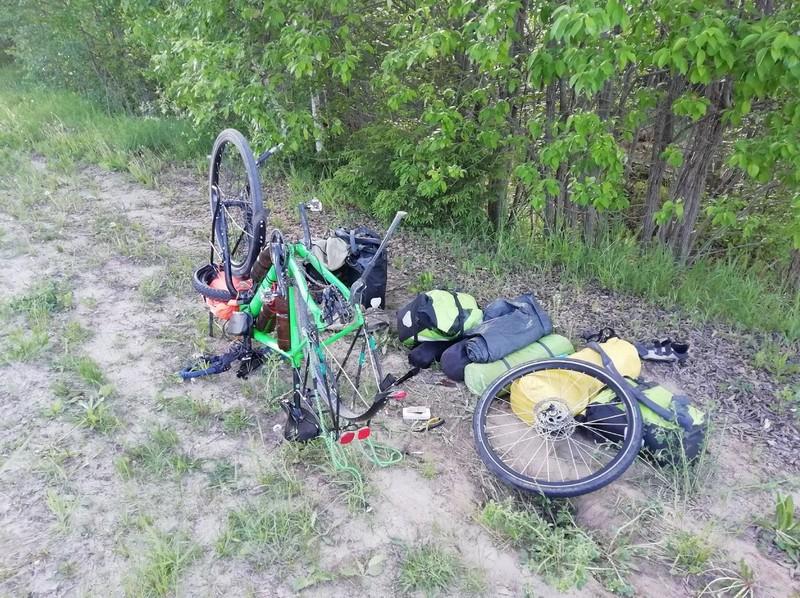 Житель Кировской области отправился на велосипеде на Байкал