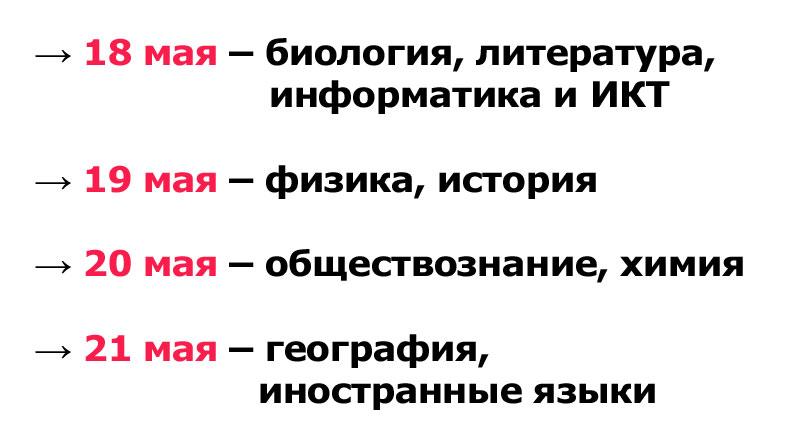 Кировские школьники напишут контрольные вместо ОГЭ