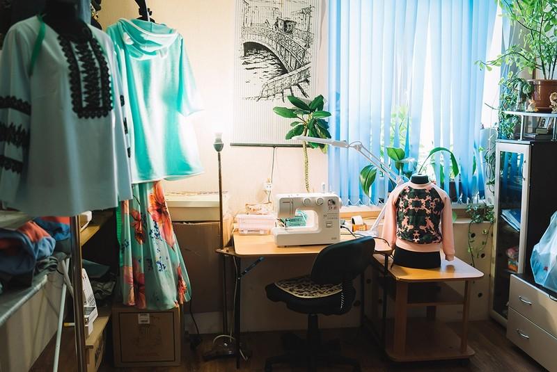 Кировчанка, воспитывающая пятерых детей, создаёт свой бренд одежды