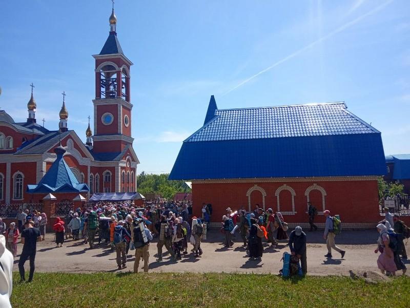 Великорецкий крестный ход вернулся в Киров