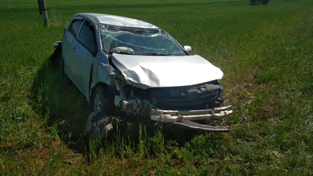 В Кировской области за выходные опрокинулись несколько авто