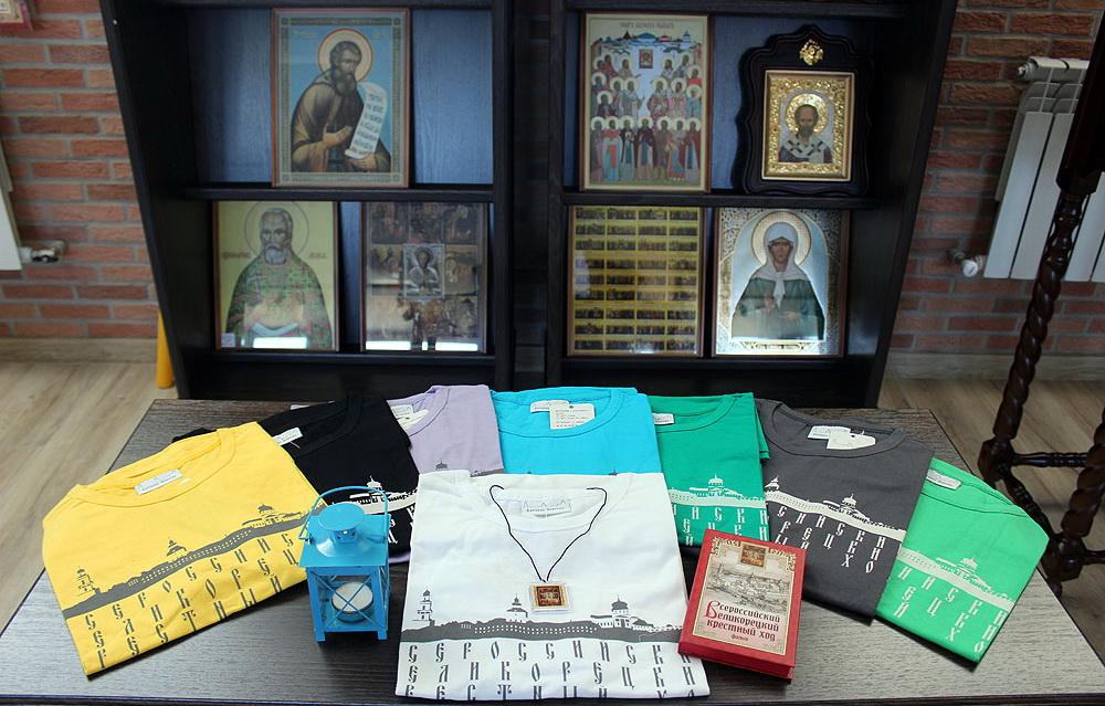 В Вятской епархии подготовили сувениры для паломников Великорецкого хода