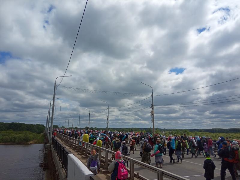 Великорецкий крестный ход вышел из Кирова