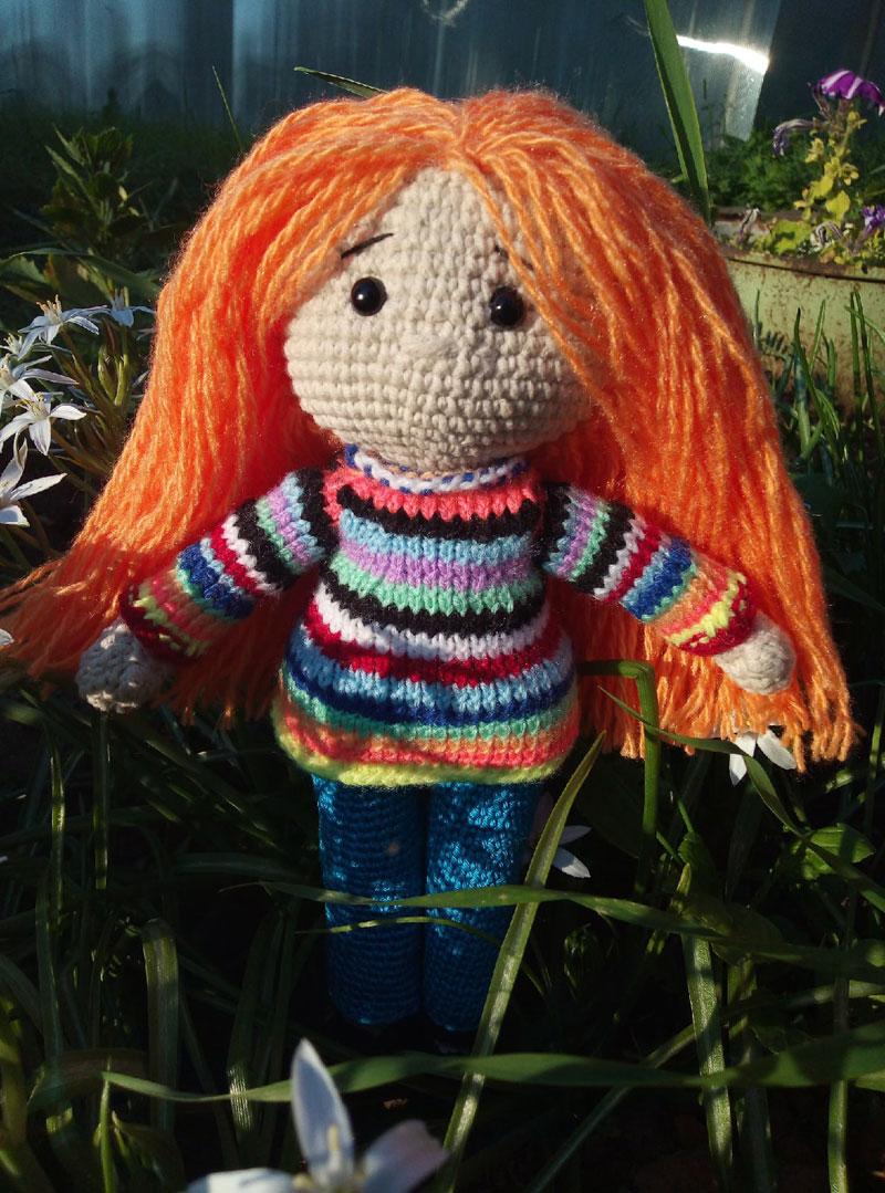Жительница Кировской области связала куклу Марии Бутиной
