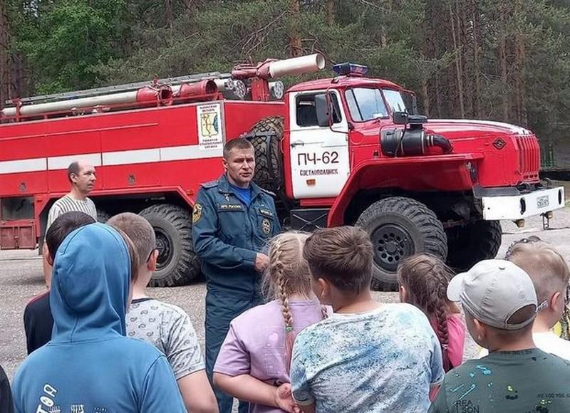 В Кировской области эвакуировали детский лагерь