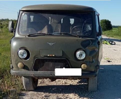 В Советском районе разбился 53-летний мотоциклист