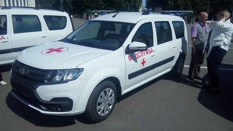 Медицинские машины поедут в районы Кировской области