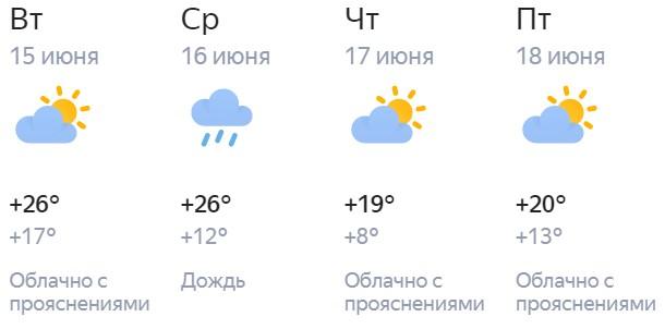 Синоптики составили прогноз погоды в Кирове на короткую рабочую неделю
