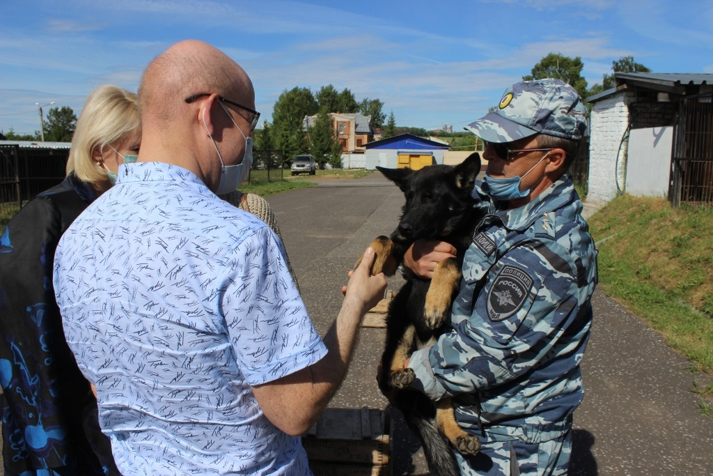 У кировских полицейских есть собака, которая ищет деньги