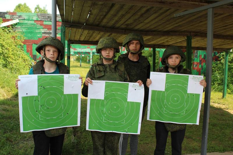 В Кирове прошли соревнования по стрельбе среди юнармейцев