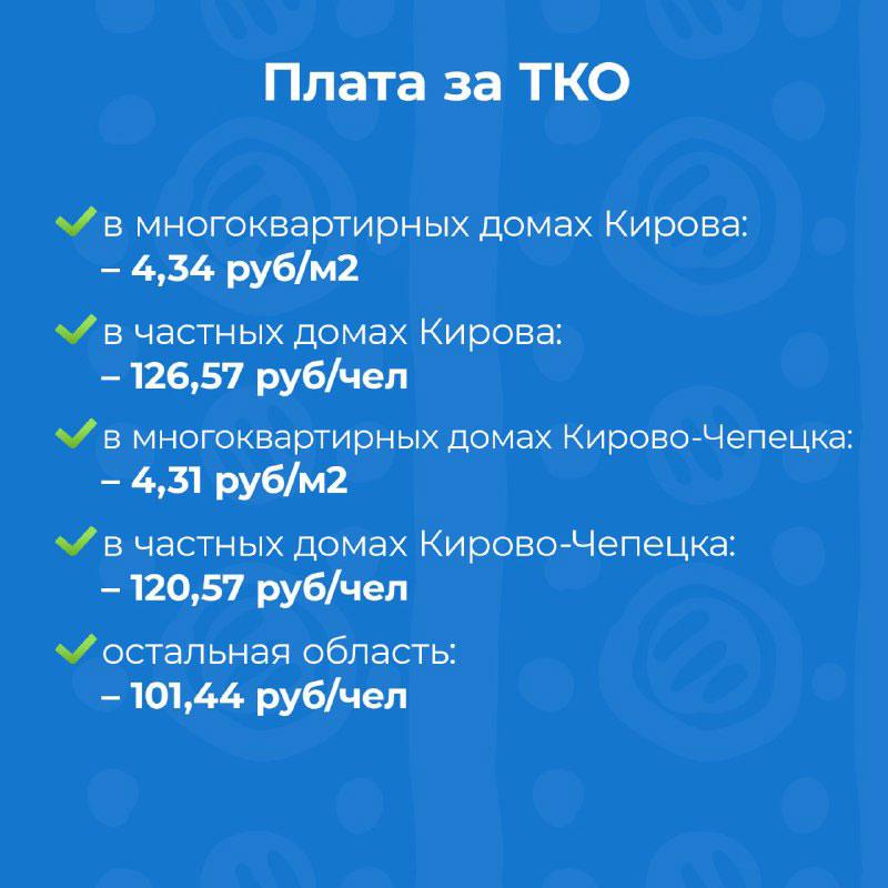 Кировчанам рассказали, как изменятся тарифы ЖКХ с 1 июля 2021 года