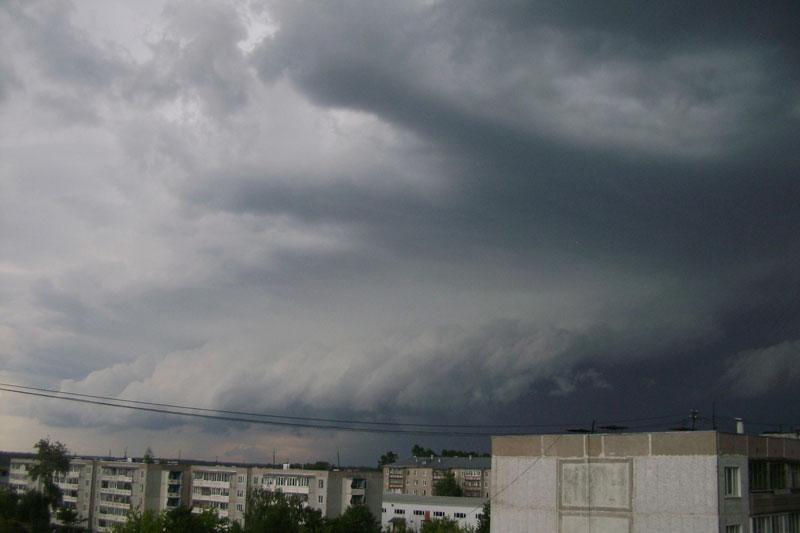 Кировчане поделились снимками необычных облаков