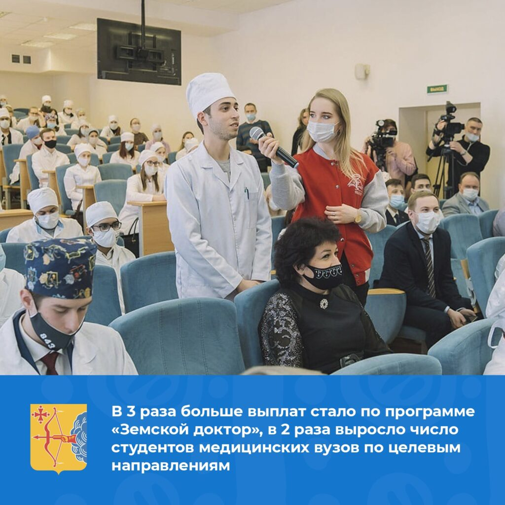 Игорь Васильев поздравил медиков с профессиональным праздником