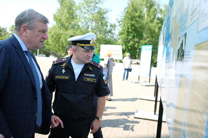 В парке Победы открылась выставка, посвященная медикам