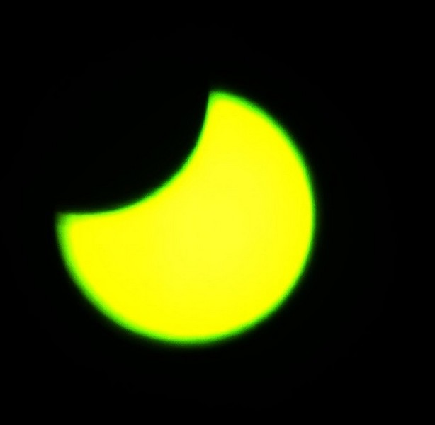 Кировчане запечатлели солнечное затмение
