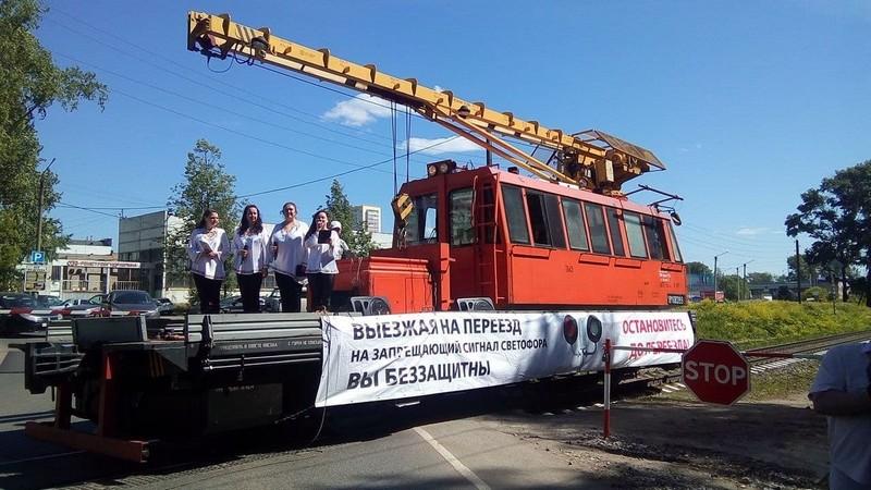Кировчанам исполнили частушки на железной дороге