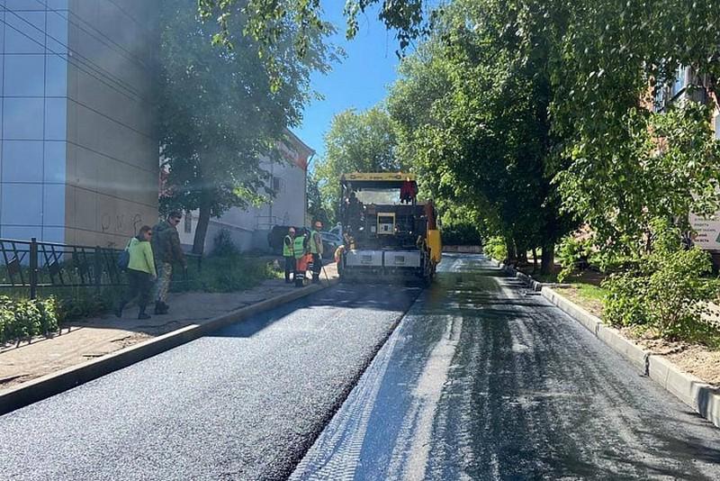 В Кирово-Чепецке готовятся к сдаче несколько отремонтированных дорог