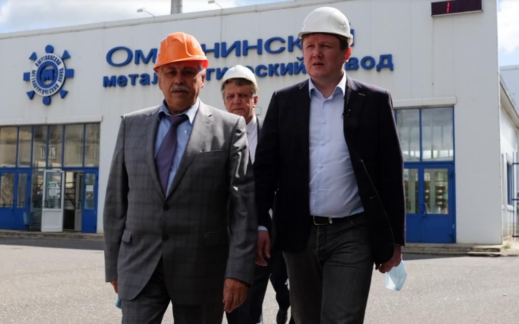 Александр Чурин обсудил в Омутнинске перспективы развития города и завода