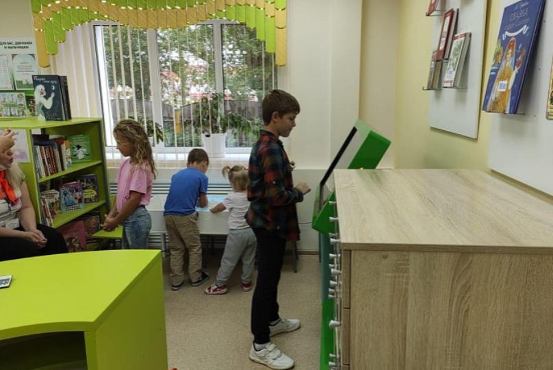 В Кировской области открылась первая в этом году модельная библиотека