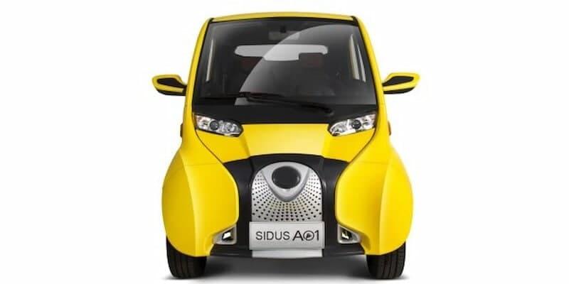 В России планируют продавать небольшой белорусский электромобиль