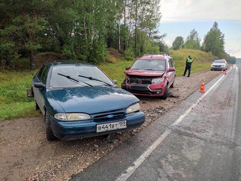 """На федеральной трассе """"Вятка"""" в аварии травмировано 6 человек"""