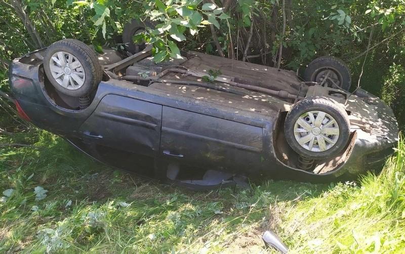 В Кировской области за день перевернулись 2 автомобиля