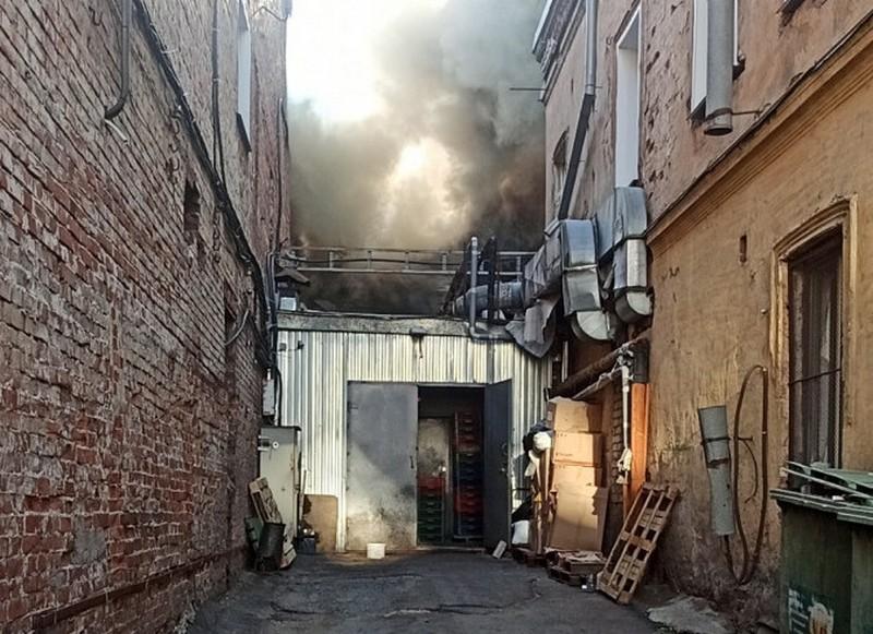 В центре Кирова потушен пожар в историческом здании