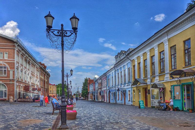 На улице Московской может появиться новая пешеходная зона