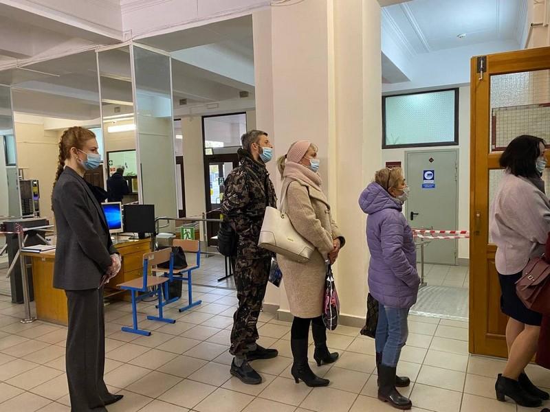 Мария Бутина проголосовала в Кирове