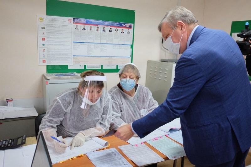 Игорь Васильев проголосовал на выборах-2021