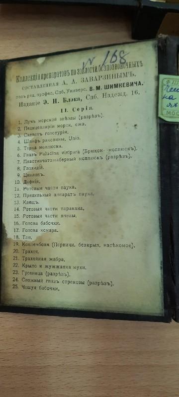 В слободской гимназии случайно нашли старинные учебные наборы