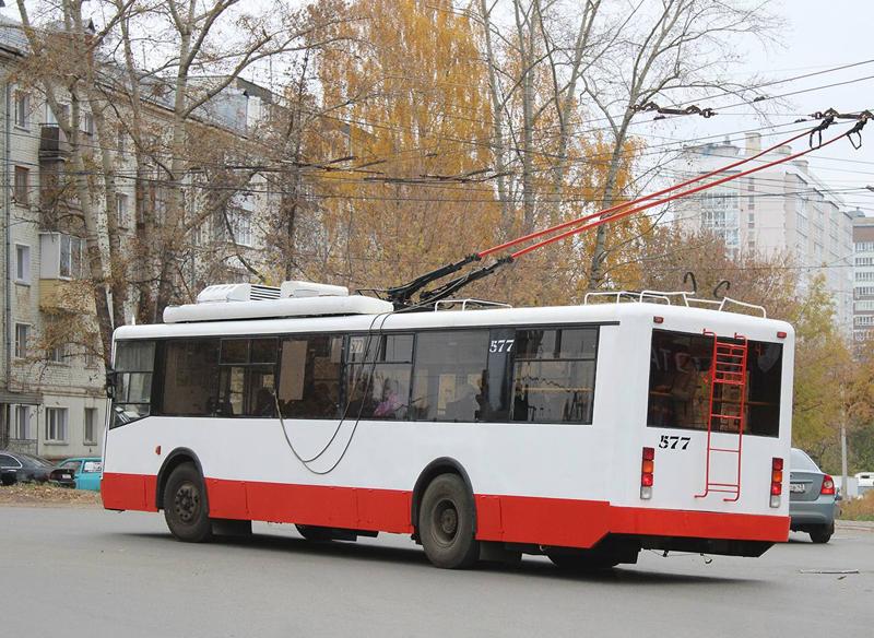 На улицы Кирова вышли обновленные троллейбусы